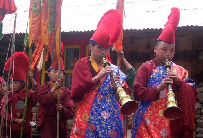 monastery-procession